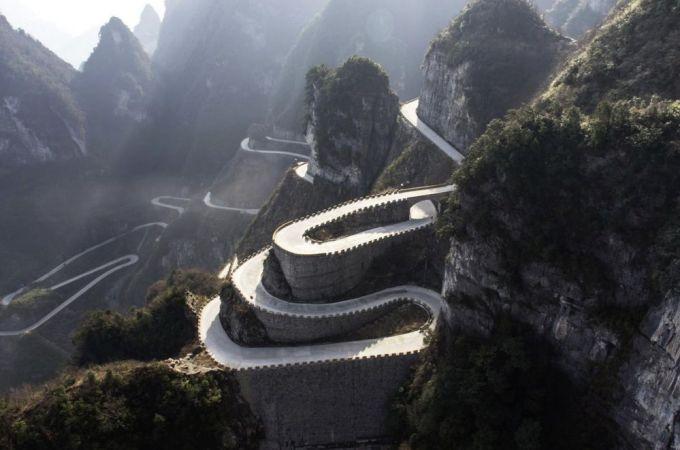 Carretera al Cielo - China