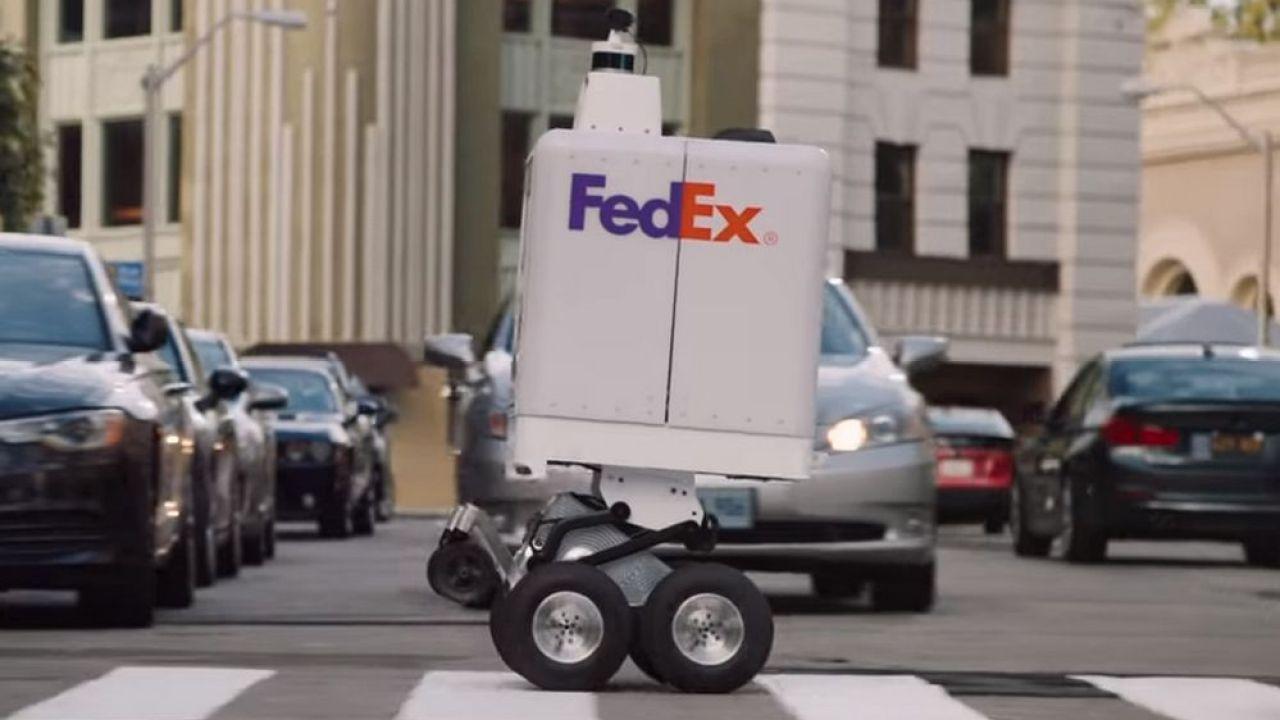 No solo Amazon tiene un robot autónomo para entregas, Fedex