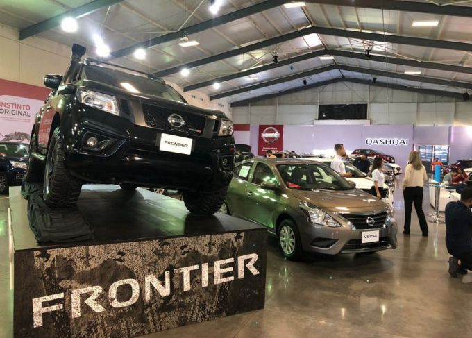 Nissan Electric Café - Expomóvil 2019 Costa Rica - Frontier - Versa
