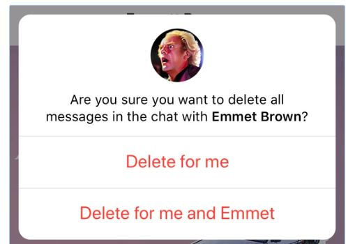 Telegram - Eliminar Mensajes y Chats