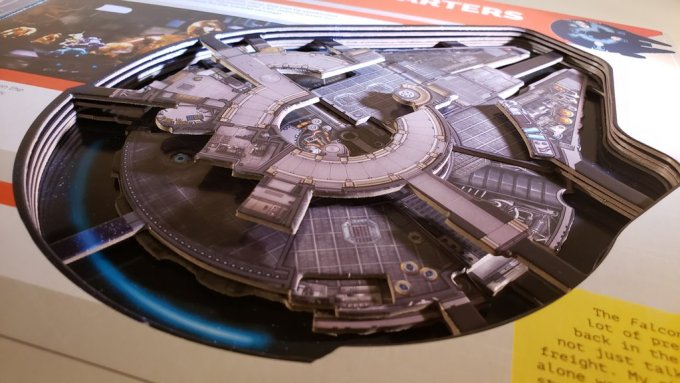Star Wars Millennium Falcon - A 3D Owner's Guide