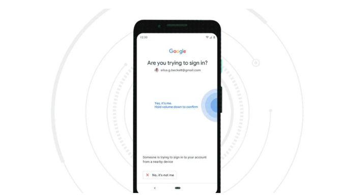 Google Smartphone Android Llave de Seguridad