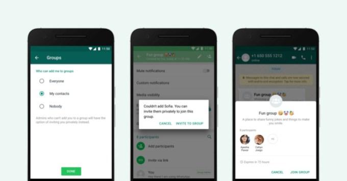 WhatsApp Grupos - Permisos