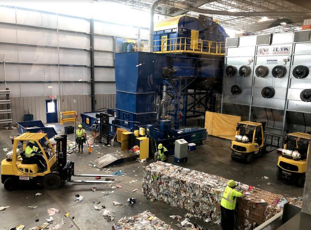 Plano Recycling Center, un centro de reciclado y educación de vanguardia y único