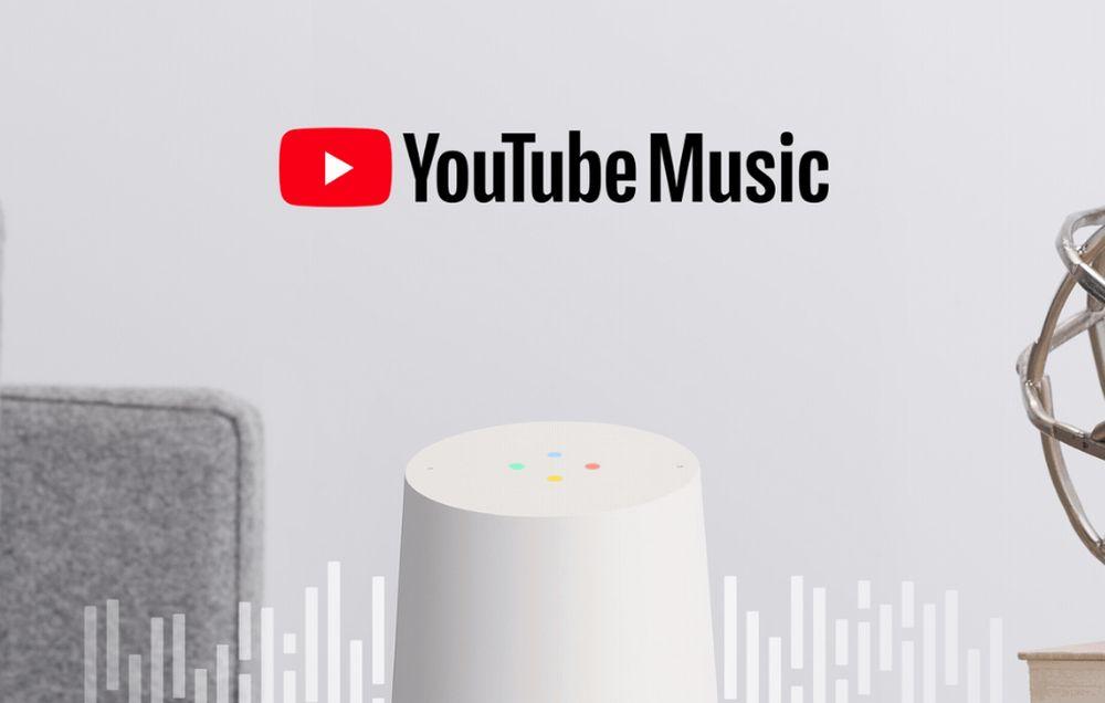 Youtube Music a partir de hoy gratis en dispositivos Google Home y otros con el Asistente de Google