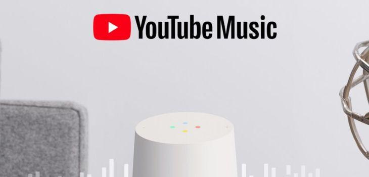 Youtube Music - Google Home