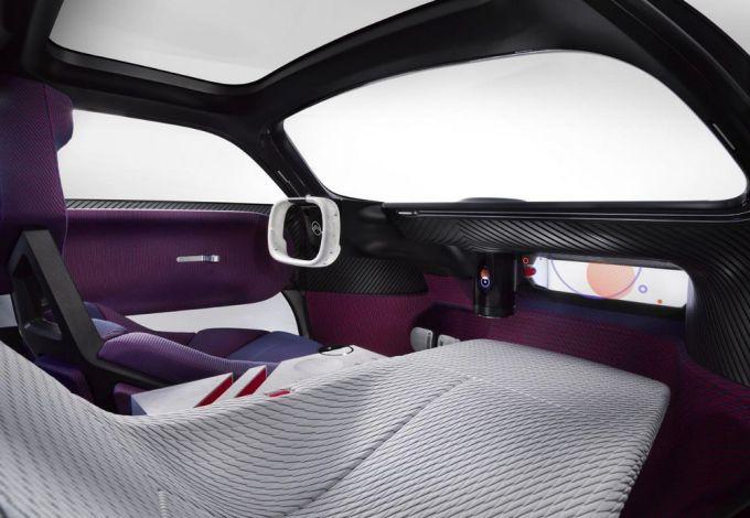 Citroën 19_19 - Concepto de vehículo autónomo/eléctrico