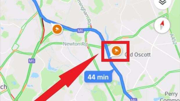 Google Maps - Cámaras de Velocidad - Trampas de Velocidad