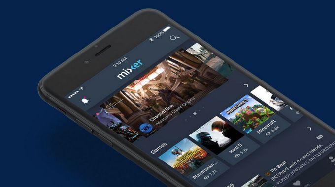 Microsoft Mixer iOS