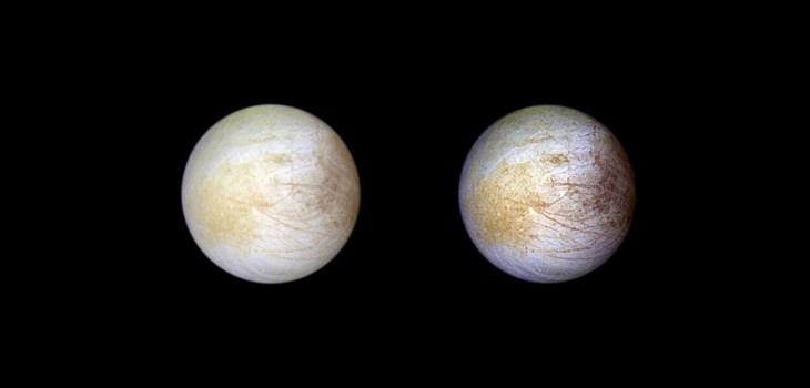 Lunas de Júpiter - Descubren Sal en la luna Europa