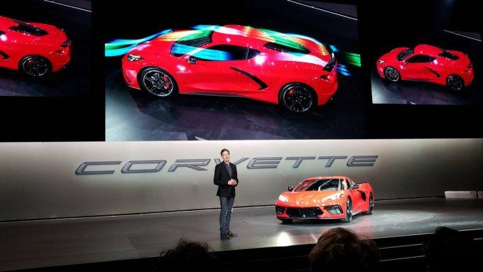 Chevy Corvette Stingray 2020