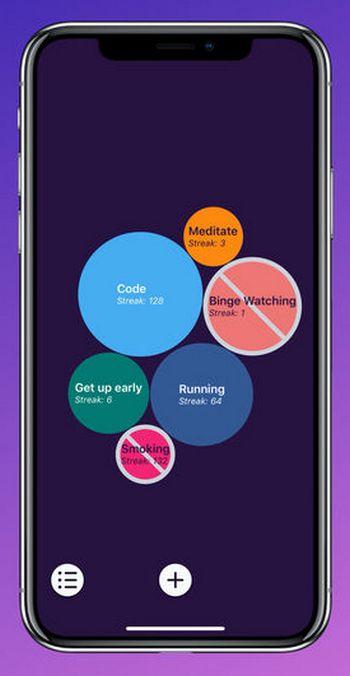 Envision - iOS - Hábitos