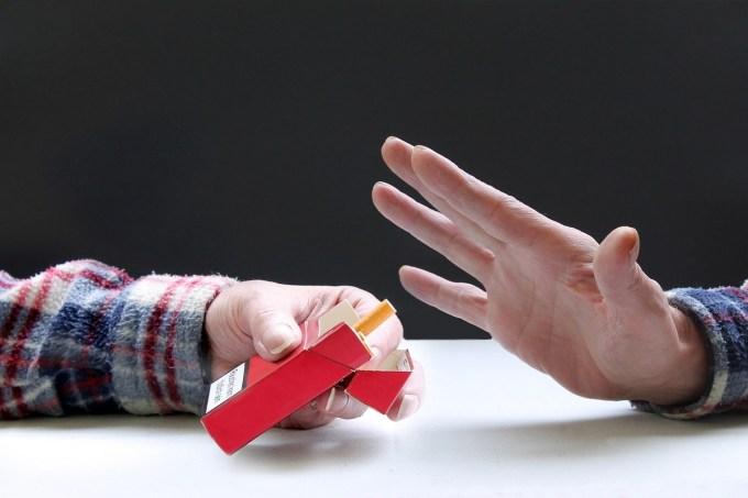 Terminar malos hábitos - dejar de fumar