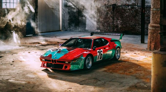 Andy Warhol - BMW M1 Art Car