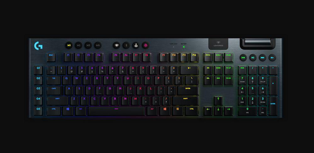 Logitech G lanza dos nuevos teclados de alto rendimiento para juegos