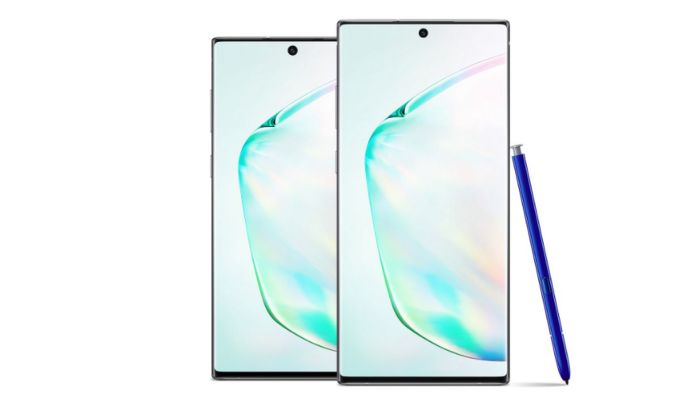 Samsung Galaxy Note 10 y 10+