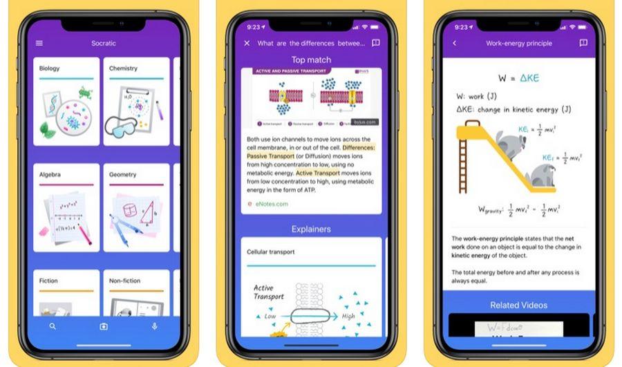 Socratic de Google, app de educación, ahora utiliza inteligencia artificial