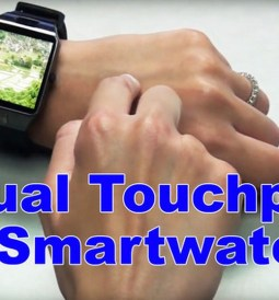 Panel Táctil Virtual para Relojes Inteligentes