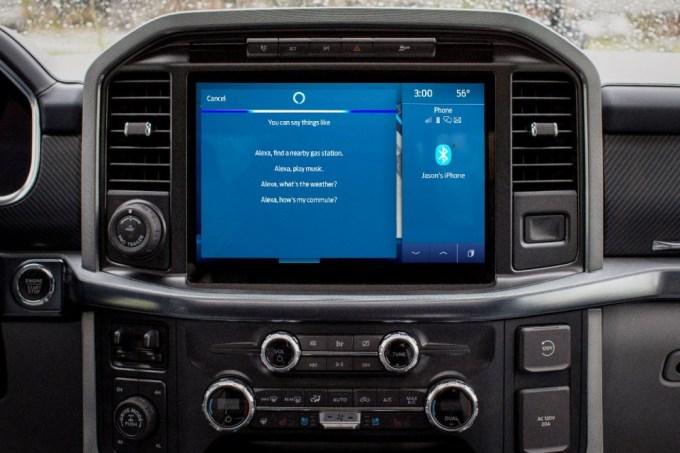 Ford Sync 4 - Ford Power-Up - Amazon Alexa