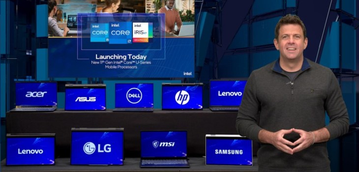 Computex 2021 - Intel Keynote - Steve Long