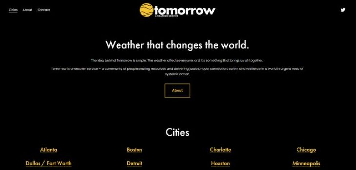 Tomorrow - Servicio Meteorológico Tomorrow