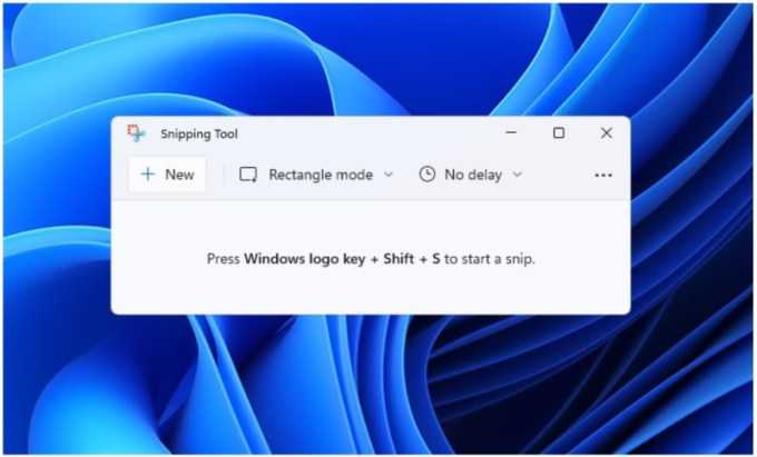 Snipping Tool - Windows 11