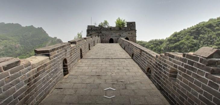 Arte y Cultura de Googe - Caminar por la Gran Muralla China