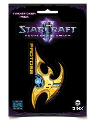 StarCraft II Sticker 2-Pack Protoss