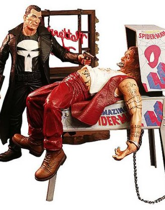 Marvel Select Akciófigura - Punisher 18 cm