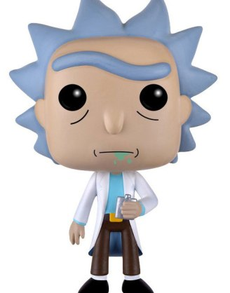 Rick and Morty POP! Animation Vinyl Figure Rick 9 cm