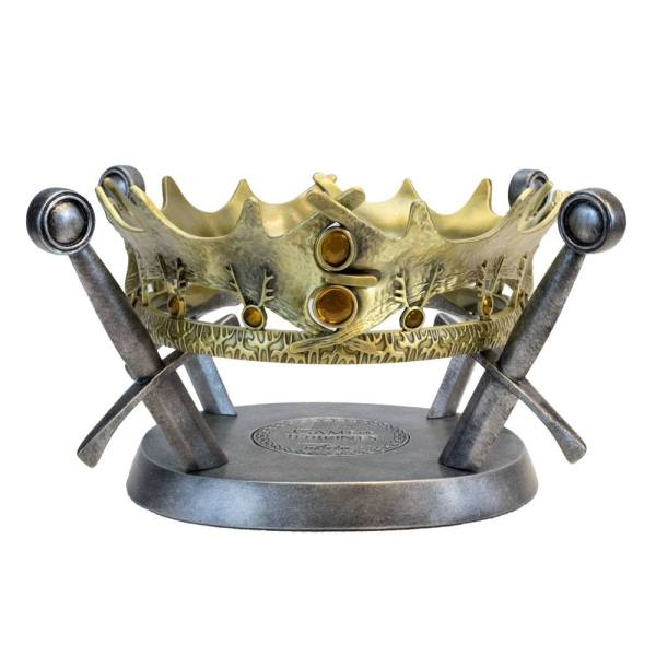 Game of Thrones 1/1 Prop Repkila - The Royal Crown of King Robert Baratheon Limited Edition (25cm)