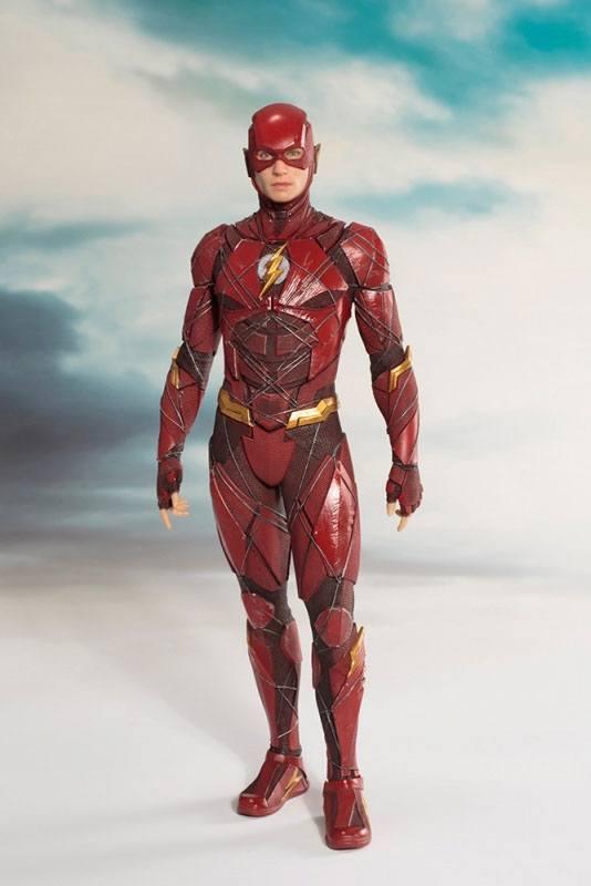 Justice League Movie ARTFX+ Szobor - 1/10 The Flash (19cm)