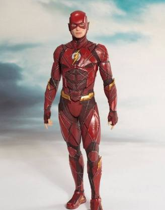 Justice League Movie ARTFX+ Szobor - 1/10 The Flash (19cm)
