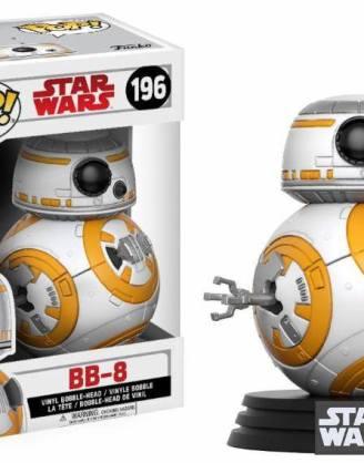 Star Wars Episode VIII Funko POP! Bobble-Head figura - BB-8