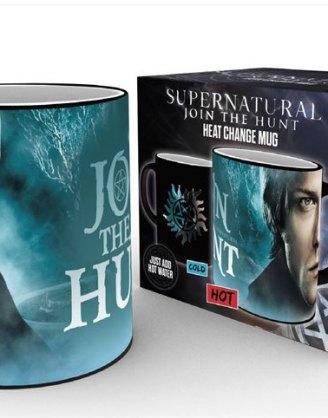x_gye-mgh0072 Supernatural Heat Change Mug Sam & Dean Symbol