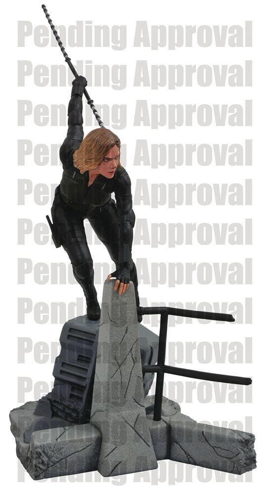 x_diamapr182160 Avengers Infinity War Marvel Gallery PVC Statue Black Widow 23 cm