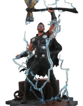 x_diamapr182164 Avengers Infinity War Marvel Gallery PVC Statue Thor 23 cm