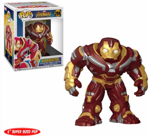 x_fk26898 Avengers Infinity War Oversized POP! Movies Vinyl Figure Hulkbuster 15 cm