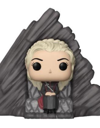 x_fk29165 Game of Thrones POP! Rides Vinyl Figure Daenerys on Dragonstone Throne 15 cm