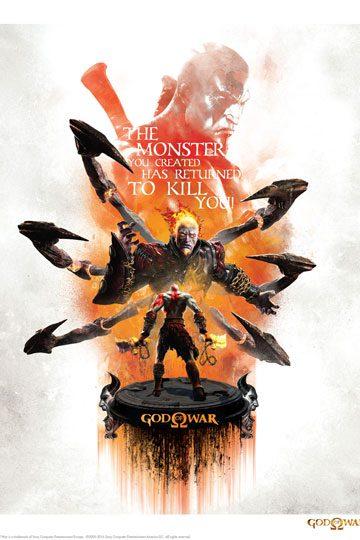 d_igp-sony07 God of War Art Print Monster 35 x 28 cm