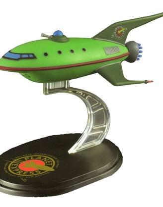 x_fut-0001 Futurama Mini Masters Replica Planet Express Ship LC Exclusive 12 cm