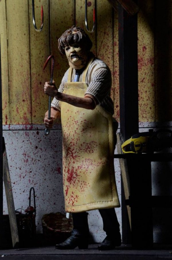 x_neca39748 Texas Chainsaw Massacre Retro Action Figure 40th Anniversary Ultimate Leatherface 18 cmx_neca39748 Texas Chainsaw Massacre Retro Action Figure 40th Anniversary Ultimate Leatherface 18 cm