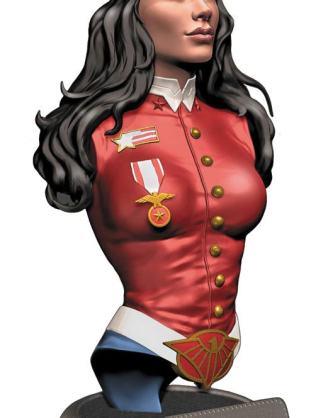x_dccapr160451 DC Comics Bombshells Bust Wonder Woman 19 cm
