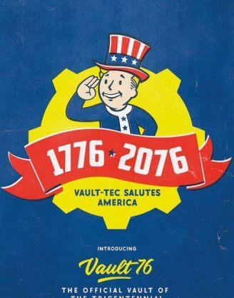 Fallout 76 poszter – Tricentennial