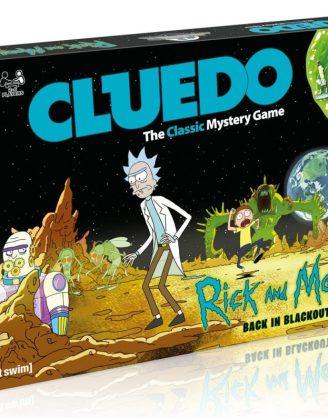 x_wimo003210 Rick and Morty Cluedo Back in Blackout (angol nyelvű változat)