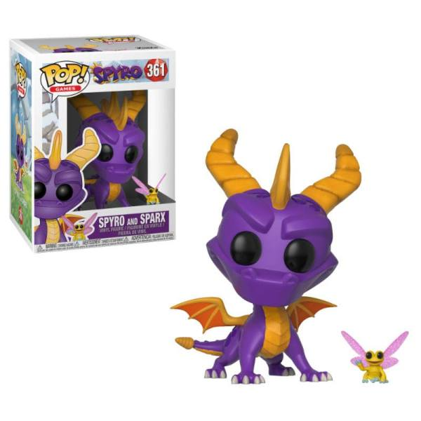 x_fk32763 Spyro the Dragon POP! Figura - Spyro & Sparx 9 cm