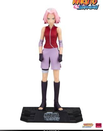 x_mcf12015-8 Naruto Shippuden Color Tops Action Figure Sakura 18 cm