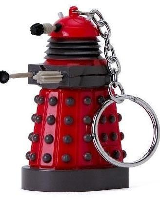 x_zltddr90 Doctor Who - LED Torch Dalek kulcstartó 9 cm