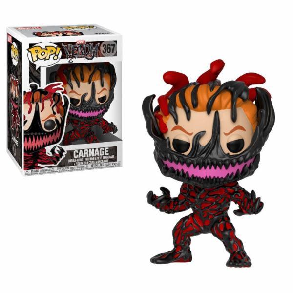 x_fk33073 Marvel Comics Venom Funko POP! Figura - Carnage 9 cm