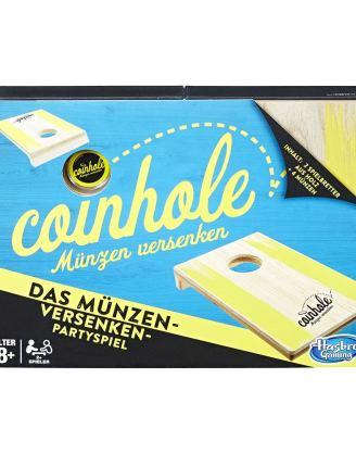 x_hasc3810100 Hasbro Game Coinhole (német nyelvű változat)